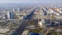 Manif monstre anti Charlie Hebdo en Russie - contre caricatures Charlie Hebdo