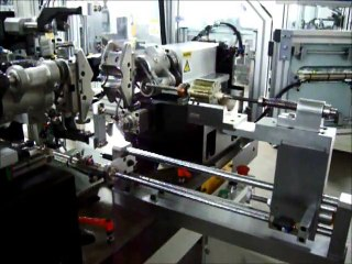 Armature Winding machine demo for bus accessories armature motor