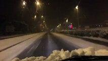 Neige à Valence 5h30, 20 janvier