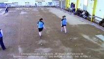 Tir de précision, Sport Boules, Suzy Marie contre Floriane Amar