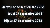 Journal télévisé des Rencontres Education Pyrénées Vivantes du 27/09/2012