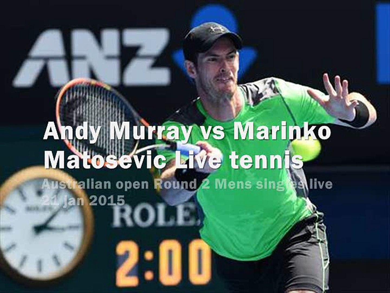 Andy Murray vs Marinko Matosevic live stream