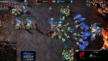 Nerchio (Z) vs. Welmu (P) - MyStarCraft Arena #4 powered by Dailymotion StarCraft II Heart of the Swarm