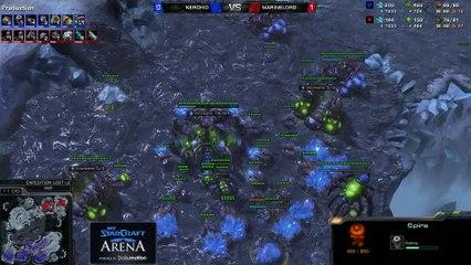 Nerchio (Z) vs. MarineLord (T) - MyStarCraft Arena #4 powered by Dailymotion StarCraft II Heart of the Swarm