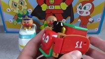 Anpanman vehicle アンパンマンの乗り物おもちゃ 新幹線、SLマン、アンパンマン号