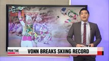 Lindsey Vonn earns record 63rd World Cup win