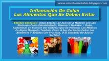 Inflamacion De Colon-Los Alimentos Que Se Deben Evitar