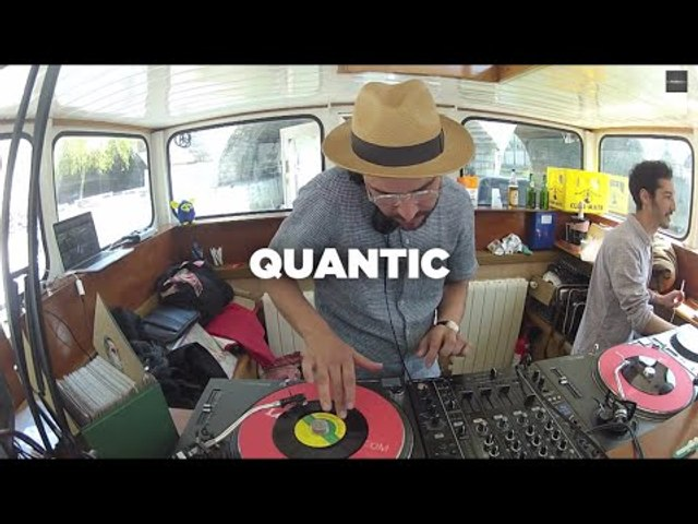 Quantic • Vinyl set & interview by Soulist • LeMellotron.com
