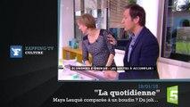 Zapping TV : Roselyne Bachelot et son esprit mal placé
