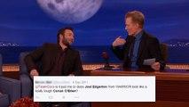 Joel Edgerton & Conan  Separated At Birth   - CONAN on TBS