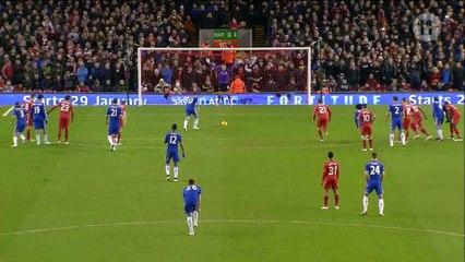 The opening goal from Eden Hazard!