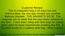 Firstgear Onyx Expandable Magnetic Tank Bag - Black Review