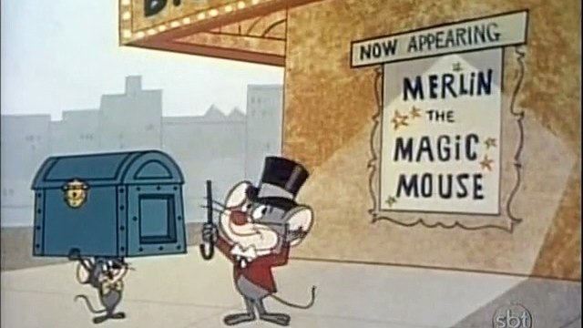 Looney Tunes - Merlin, o Rato Mágico - Merlin, the Magic Mouse (1967) (dublagem Cinecastro)