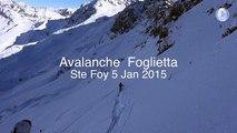 Une avalanche emporte 5 skieurs (tous miraculés)