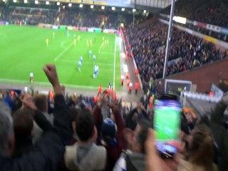 Norwich 1-2 Reading  Jake Cooper's winning goal 29/11/14