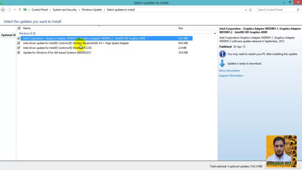 How to Install Drivers in Windows 8 in Urdu Language