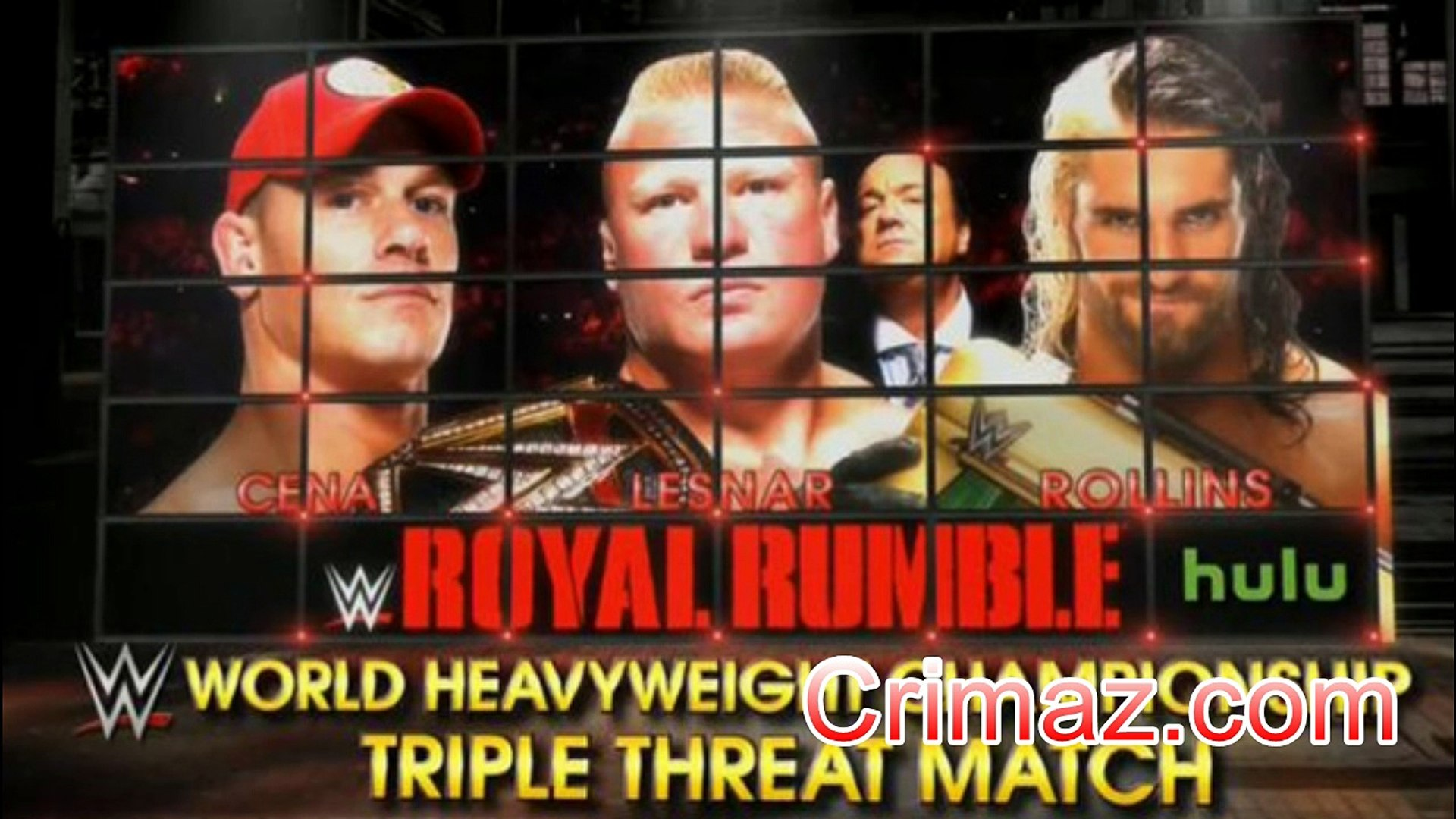 Watch WWE Royal Rumble 2015 - 1-25-2015 - January 25th 2015 Results