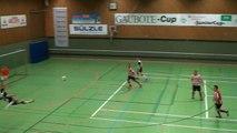 Un exceptionnel Ciseau acrobatique en futsal
