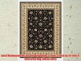 Loloi Welbourne WL-05 Polypropylene 11-Feet 2-Inch by 14-Feet 6-Inch Area Rug Black/Ivory