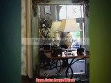 Extra Large 86 FLOOR Wall Mirror Oversize Ornate Gray Green Full Length Leaner