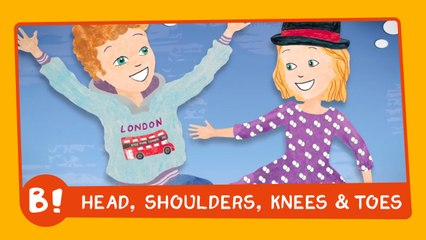 Head, shoulders, knees & toes (lyrics video)