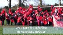 Kop Ste Marie Chartres de Bretagne et Hermines rouges Kermesse Rouge et Noir