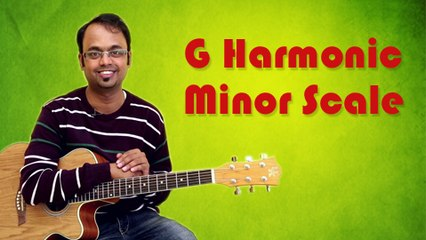 How To Play - G Harmonic Minor Scale - Guitar Lesson For Beginners