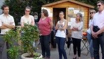 """stage développement durable, une initiative du Jardin partagé de """"entr'aide à domicile"""""""
