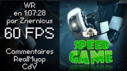 Speed Game [60FPS] : Portal 2 fini en 1:07:28 par Znernicus
