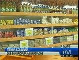 """Inaugurarán """"La Huerta"""", una tienda solidaria que beneficiará a los refugiados en Quito"""