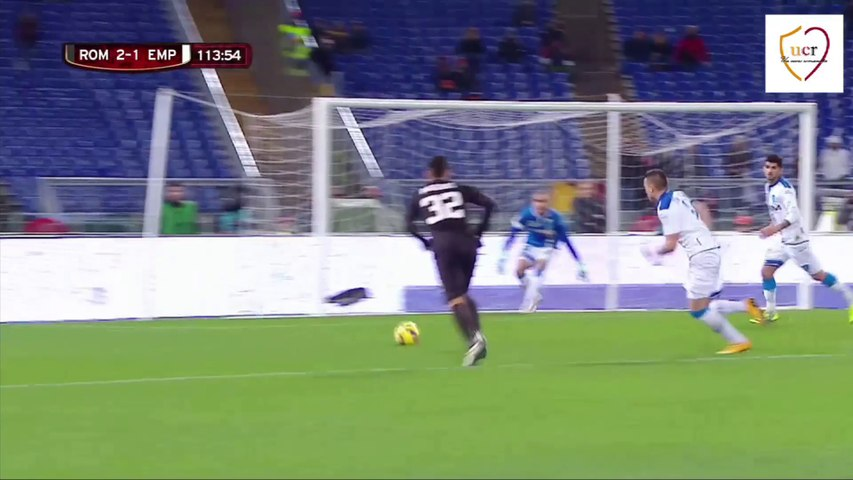 Roma-Empoli, penalty Roma