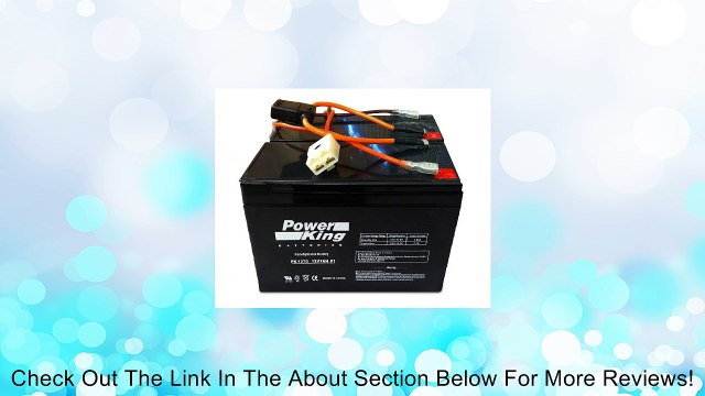 Razor 12 Volt 7Ah Electric Scooter Batteries Beiter DC Power nd High on