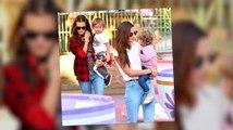 Lily Aldridge y Alessandra Ambrosio van a Disneyland