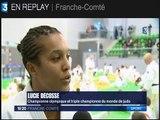 Reportage France 3 sur le Benjamins Tour à l'Axone de Montbéliard avec interview d'Etienne Ducreux