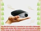 Excelvan? RD-802 LED LCD Portable Mini Multimedia Projector AV USB VGA HDMI SD Home Theater