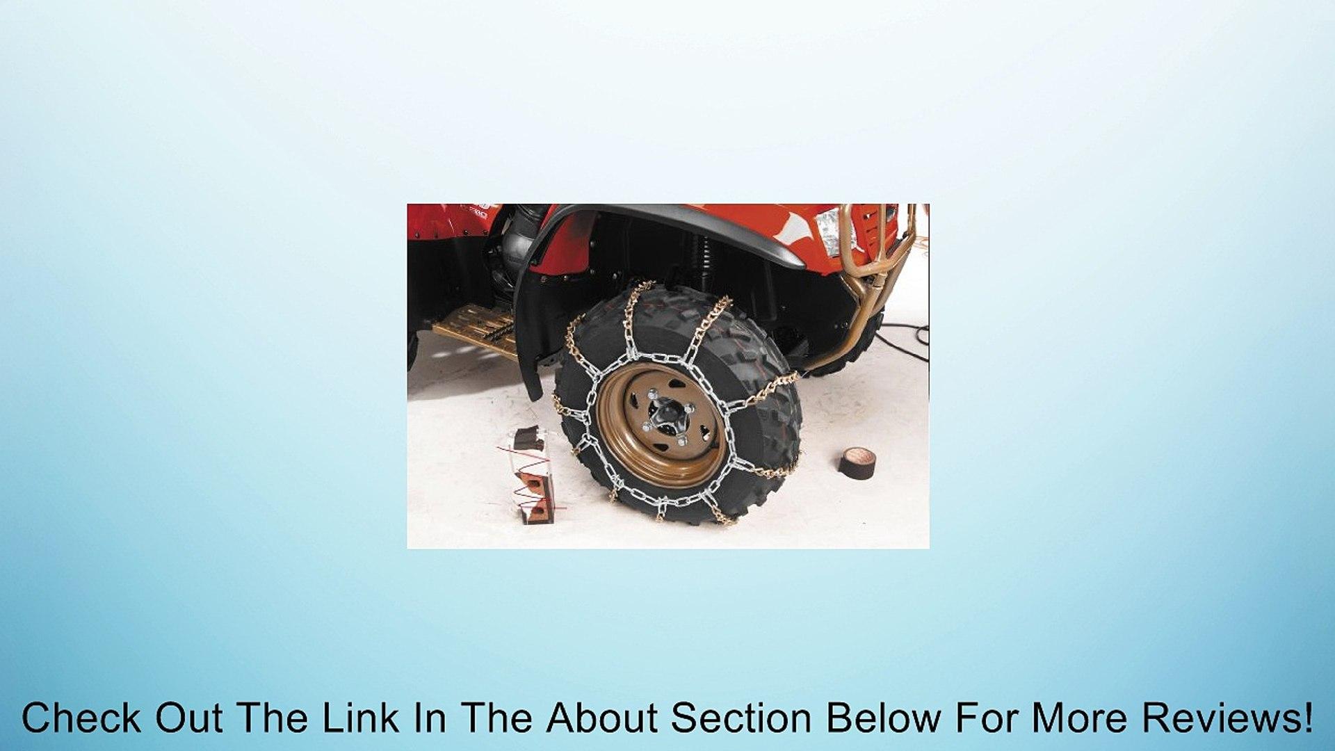 QuadBoss V-Bar Tire Chain - Large 40302/356-0822 2003 Arctic Cat 400 2x4 Auto, 1998-2002 Arctic Cat