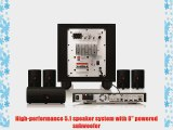 JBL Cinema BD 300 Complete 5.1-Channel 3D Blu-ray Disc Integrated Home Theater System
