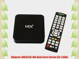 MX Dual Core Android 4.2 RAM 1G ROM 8G Smart TV Box XBMC Media Player Mini PC Wifi 3D