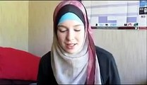 A Girl Telling Amazing Story of Converting To Islam From Christianity
