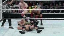 Randy Orton RKO on Sheamus - Raw - August 18, 2014