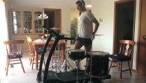 Metallica drum cover by The Treadmill Drummer - Enter Sandman