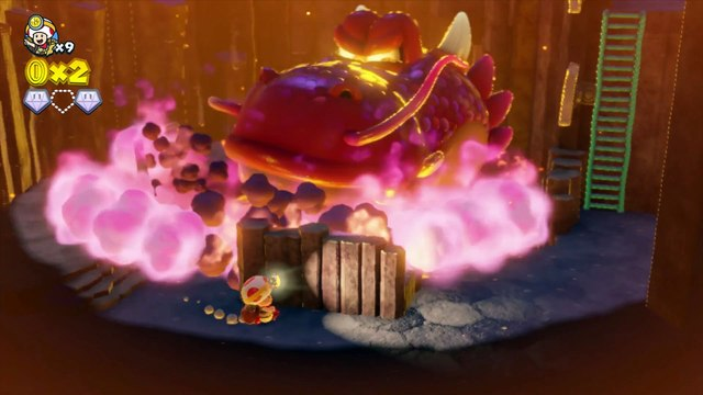Captain Toad : Treasure Tracker : Gameplay Video
