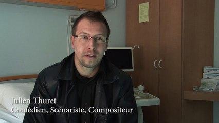 Archives #3 - INTERVIEW JULIEN (Co-scénariste, Compositeur, Comédien)