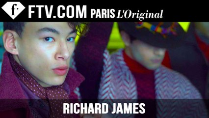 Richard James by Woolmark | Menswear Fall/Winter 2015-16 | London Collections: Men | FashionTV