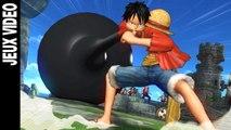 One Piece: Pirate Warriors 3 - Gameplay avec Luffy, Trafalgar Law, Fujitora et Doflamingo