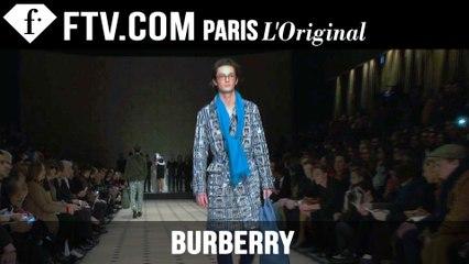 Burberry Men Fall/Winter 2015-16 Show | London Collections: Men | FashionTV