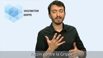 Vaccination Grippe - Langue des signes