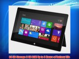Microsoft Surface Windows RT 64GB Tablette Tactile 10.6  NVIDIA Noir