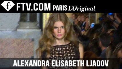 Alexandra Elisabeth Ljadov: Model Talk | Spring/Summer 2015 | FashionTV