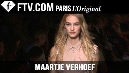Maartje Verhoef: Model Talk | Spring/Summer 2015 | FashionTV